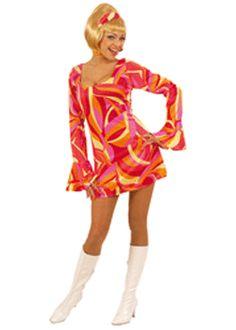 Dames jurk jaren 70 - EUR 29,95