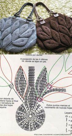 Crochet Handbags Crochet Purses Pola Rajut Knitted Bags Handmade Bags Emboss Purses And Bags Crochet Patterns Crochet Necklace Crochet Pouch, Crochet Baby, Knit Crochet, Beach Crochet, Cotton Crochet, Puff Stitch Crochet, Flower Crochet, Crochet Shoes, Crochet Handbags