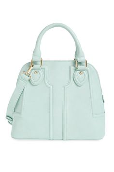 Mint Faux Leather Satchel, Sole Society, $60