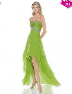 A-line Sweetheart Sleeveless Asymmetrical Chiffon Prom Dress #WX162 - See more at: http://www.avivadress.com/prom-dresses/cheap-prom-dresses.html?p=3#sthash.Y1glJ6ps.dpuf