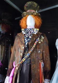 Mad Hatter Johnny Depp outfit, Alice In Wonderland