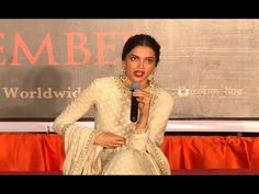 Deepika Padukone CONFUSED & CLEVER to the media'a question.