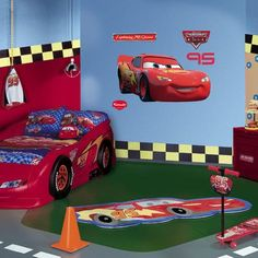 Amazing Fathead Lightning McQueen Wall Decal Part 20
