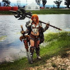 An awesome Virtual Reality pic! The diablolll girl...la chica diablolll en su campo de batalla jajaja...#gaming. #gamercosplay #diablocosplay #diablo3reaperofsouls #diabloiii #diablo3 #cosplay #gamer #realgame #cosplaygirl #cosplayer #virtualreality #fullhd #4k XD by mauro_sb_cal check us out: http://bit.ly/1KyLetq