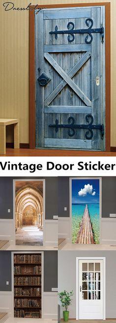 Proper Planning For A Home Improvement Project Door Murals, Vintage Doors, Door Stickers, Paper Houses, My New Room, Classroom Decor, Home Projects, Decorating Your Home, Diy Furniture
