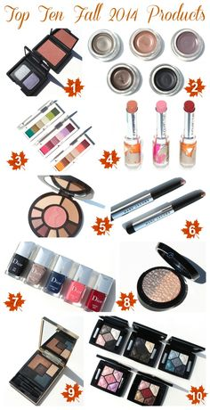 Top 10 Fall 2014 Beauty Products | Beauty Blogger Top Ten Tuesday