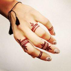indian henna & native american design