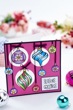 Create a vibrant card using Chameleon Pens in our October issue, out now! http://chameleonpens.com Photography: CliQQ, cliqq.co.uk