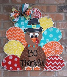 Hey, I found this really awesome Etsy listing at https://www.etsy.com/listing/246822213/fall-pilgrim-turkey-door-hanger