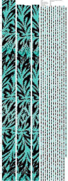 Схемы жгутов из бисера от Марии Глуховой