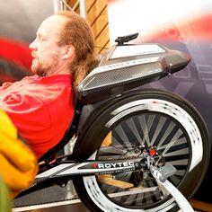 ROYTEC Liegefahrrad auf der Spezialradmesse in Germersheim / Pfalz