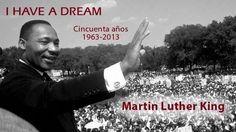 """A 50 años del """"I have a dream""""."""