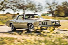 The Pontiac Grand Am found a welcome market with solid first-year sales, but the oil embargo of 1973 undercut the appeal of muscle cars killing the Grand Am in Pontiac Lemans, Pontiac Cars, Best Muscle Cars, American Muscle Cars, Pontiac Firebird Trans Am, Pontiac Grand Prix, Lifted Ford Trucks, Chevrolet Chevelle, Gto