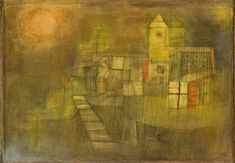 Small Village in the Autumn Sun by Paul Klee 1925