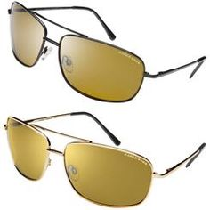 285411ea7338e Eagle Eyes Navigator Black Sunglasses   FREE Navigator Gold Sunglasses  Black Sunglasses