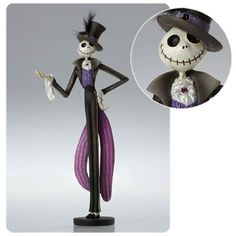 Nightmare Before Christmas Jack Skellington Statue - Enesco - Nightmare Before Christmas - Statues at Entertainment Earth
