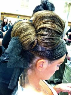 More fashion show. hair