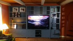 Media and Storage unit | Do It Yourself Home Projects from Ana White