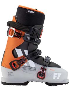 Descendant 120 Comfort is Performance With the perfect ratio of comfort to performance, the Full Tilt Descendant 120 is your go to ski boot for all day charging. Featuring a 10 / 120 flex tongue, an intuition pro wrap liner, power cinch strap, and grip walk outsoles, we beefed this boot up to have the technology you need. Pair it all with the roomy 102mm Evolution Shell, and you get the best ski boot for anyone with a slightly wider foot that is looking to rip anywhere on the mountain.