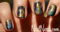 OMG! Nebulae AND nails :) who would have thought it could be done..