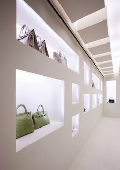Kwanpen store in Seoul by Betwin Space Design, niches as displays _