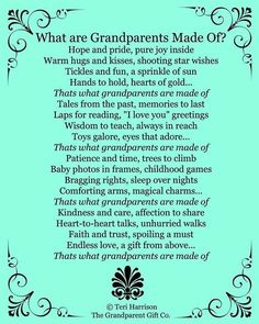 New Grandma and Grandpas- such an impact your will have! More New Grandma and Grandpas- such an impact your will have! More New Grandma and Grandpas- such an impact yo Grandparents Day Poem, Grandparents Day Activities, New Grandparent Gifts, Grandma And Grandpa, Grandma Gifts, Grandma Quotes, Poems For Grandma, Daughter Quotes, Father Daughter