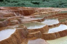 Badab-e Surt (also written Badabeh Surt) is a natural site in Mazandaran Province in northern Iran.