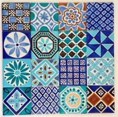 Hand Painted Ceramic Tile Pictures - http://www.newhomebuyer.org/2015/12/hand-painted-ceramic-tile-pictures.html
