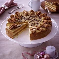 Nougat-Buttercreme-Torte Rezept