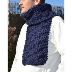 Chess Board Scarf- kit bufanda #TheWoolCollection #knitting #tejer #kit #bufanda #scarf