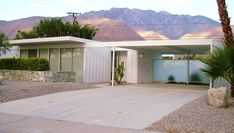 Alexander House | Architect: Donald Wexler | Palm Springs, CA Via