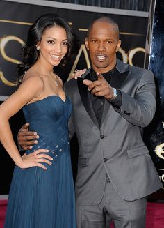 Jamie Foxx wearing a Piaget Protocole XXL at the Oscars.