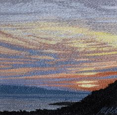 Alison Holt I really like the colours in the sky as the rest is quite dark so the sky sunset stands out
