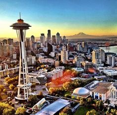 Seattle, Washington State by Peter Cassam #travel #seattle #usa