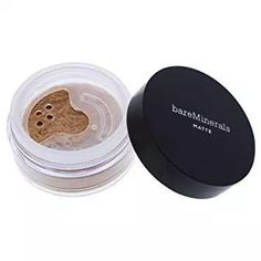 Matte Foundation SPF 15 - 02 Fairy Ivory by bareMinerals for Women - oz Foundation, Beige Best Foundation For Oily Skin, Mary Kay Foundation, Bare Minerals Foundation, Matte Foundation, Natural Beauty Tips, Organic Beauty, Greasy Skin, Bareminerals