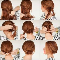 new easy hairstyles