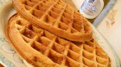 Beer-Infused Belgian Waffles