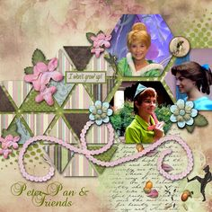 Kit: In The Hollow from Keystone Scraps Font: Baroque Script Template: by Scrapping With Liz