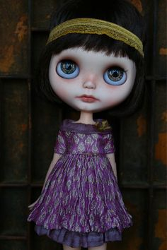 The Gilded Plum Silk Brocade Blythe Dress Set by CupcakeCurio