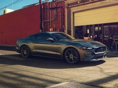 The rather different looking 2018 Ford Mustang GT [1280x960] via Classy Bro