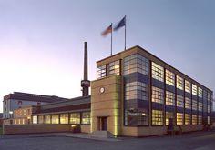 Internacionalnyj stil v arhitekture Fabrika Fagus