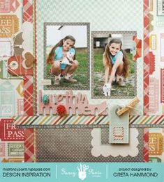 """""""love this Moment"""" layout - Scrapbook.com by clara"""