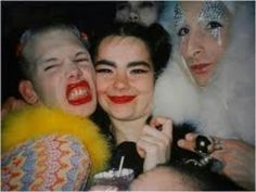 Michael Alig. Bjork. James St James.