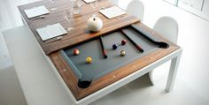 It might look like any other dining table at first glance, but this is actually a multitasking table designed by Fusion Tables. On the surface, this table has been crafted to modern perfection with a sleek wooden finish that comfortably seats 10 people for any dinner party. But within seconds, this dining table converts into […]