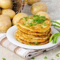 Shortcut Potato Pancakes
