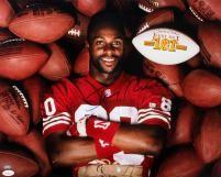 Jerry Rice Signed Photo - 16x20 JSA