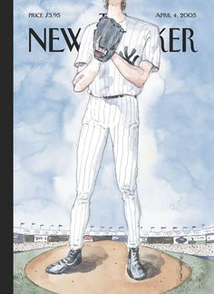 """The New Yorker - Monday, April 4, 2005 - Issue # 4115 - Vol. 81 - N° 7 - Cover """"Over the Top"""" by Barry Blitt"""