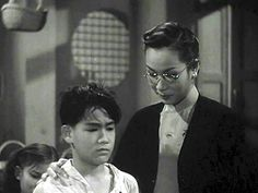 Bruce Lee in one his childhood films
