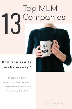 Top MLM Companies: Startup Cost and Commission - Simply Real Moms Top Mlm Companies, Direct Sales Companies, Make Money From Home, How To Make Money, Network Marketing Tips, Real Moms, Earn More Money, Multi Level Marketing, Sales And Marketing
