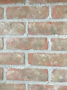 Most up-to-date Cost-Free faux Brick Fireplace Style It sometimes pays off so that you can miss the remodel! Instead of pulling out a aged brick fireplace , cut costs nevert Faux Brick Wall Panels, Brick Veneer Wall, Brick Wall Paneling, Faux Panels, Brick Flooring, Floors, Fake Stone Wall, Fake Brick Wall, Faux Brick Backsplash